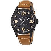 NAUTICA UOMO BLACK/LIGHT BROWN A13614G
