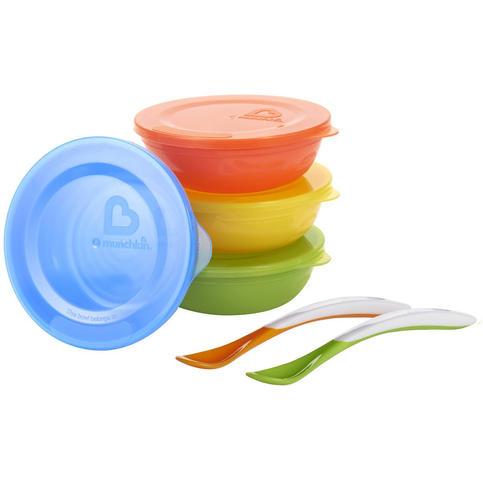 Munchkin Love-a-Bowls 10 Piece Feeding S