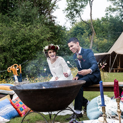 Country Tipis Styled Shoot