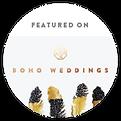 boho weddings logo