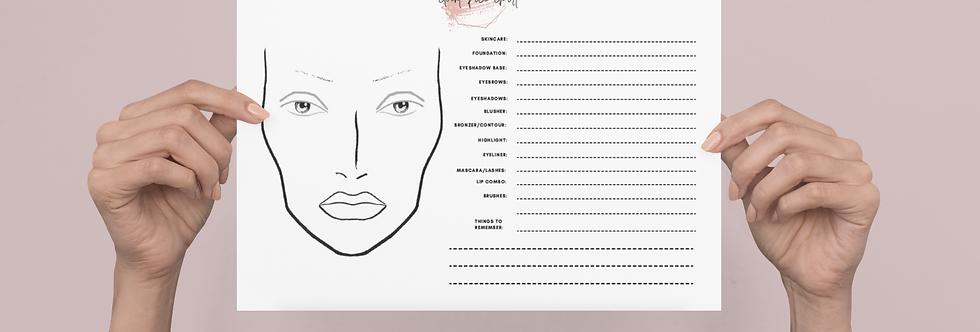 Client Face Chart