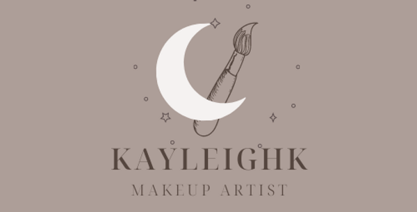 Aesthetic Moon and Brush Logo