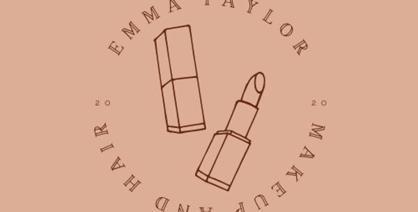 Neutral Lipstick Logo Design
