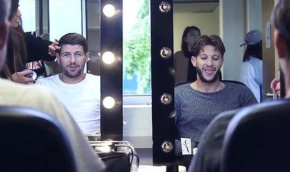 Steven Gerrard makeup artist
