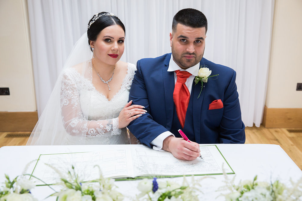 West London Russet Wedding Makeup