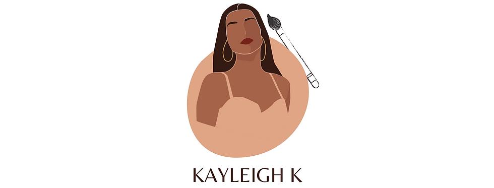Beautiful Feminine Logo with Makeup Brush
