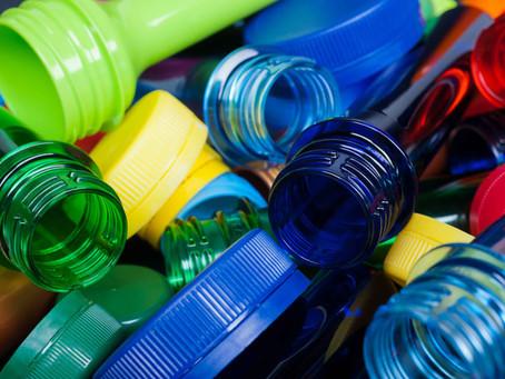Turning plastic bottles into fabric graphics