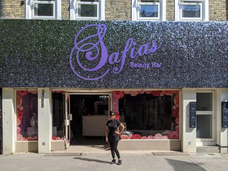 Revamping Safias Beauty Bar ready for post lockdown relaunch