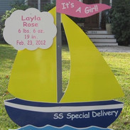 It's a Girl Sailboat