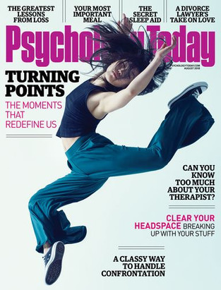 Check out Dr. Anna Yusim's Psychology Today Cover Article