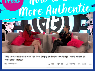 Women of Impact with Lisa Bilyeu: Dr. Anna Yusim Explains Why You Feel Empty and How to Change