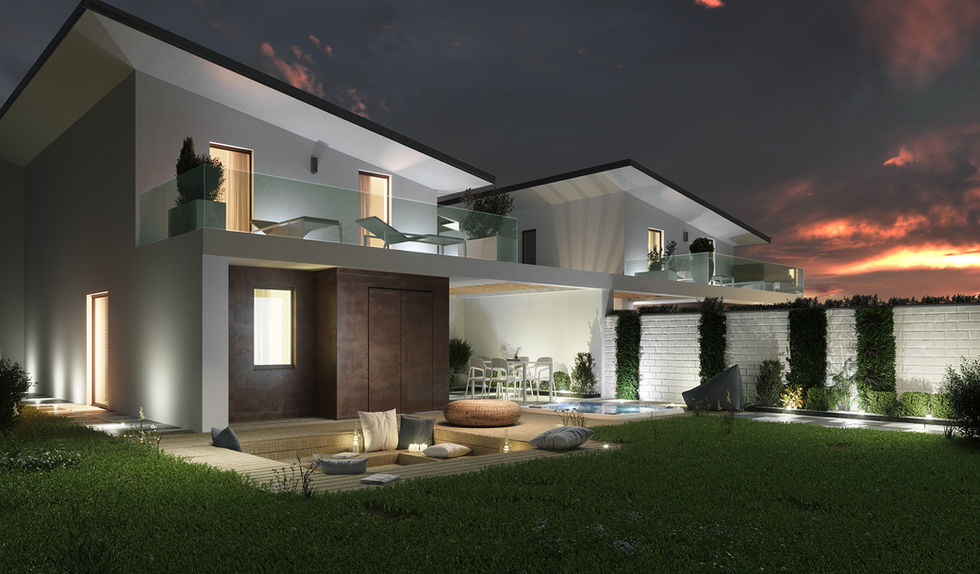 Rendering architettura esterni