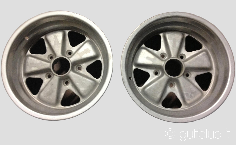 "2 Fuchs wheels 8x15"", Porsche"