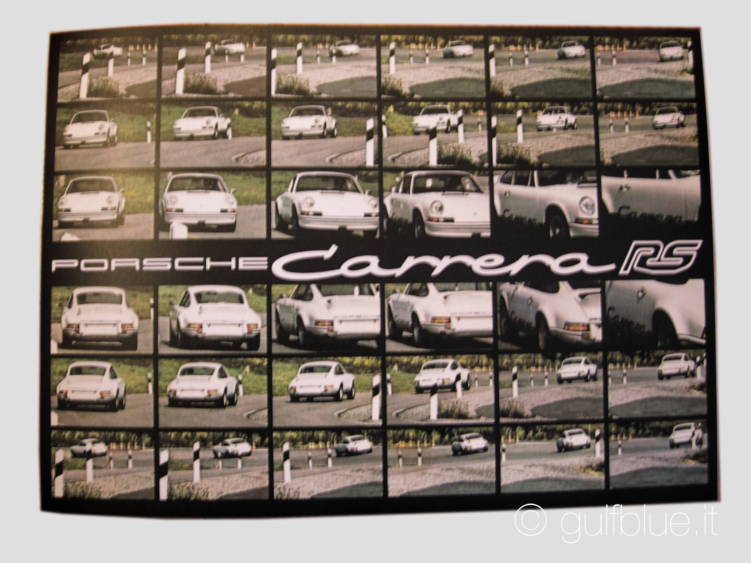 Porsche 911 Carrera RS MY73 brochure
