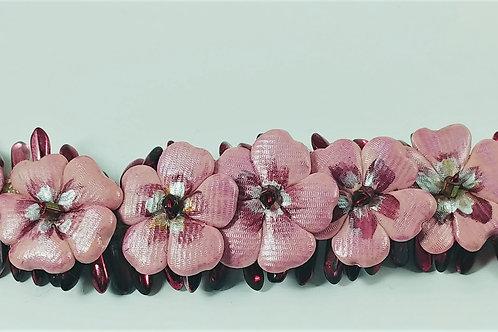 Pink Petite Floral Bracelet