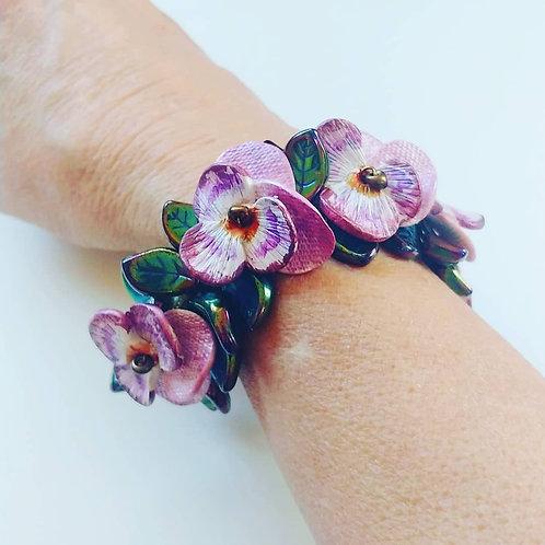 Petite Flower & Leaf Bracelets