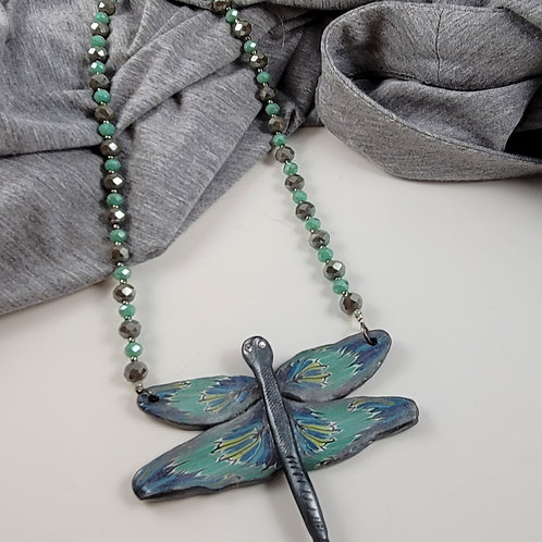 Teal Dragonfly