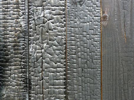 Shou-sugi-ban: revêtement de bois carbonisé