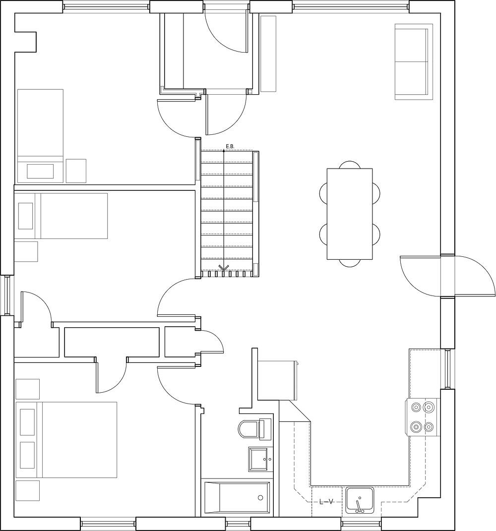 plan Bienville projeté