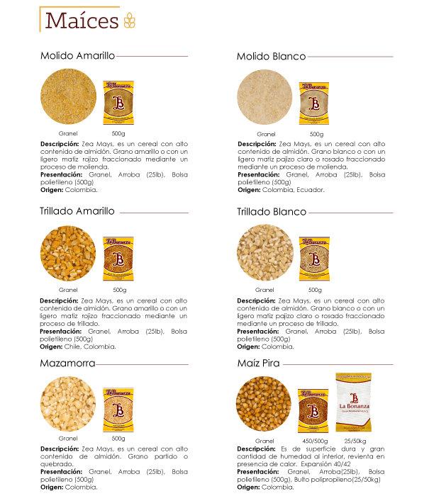 maiz de calidad en colombia