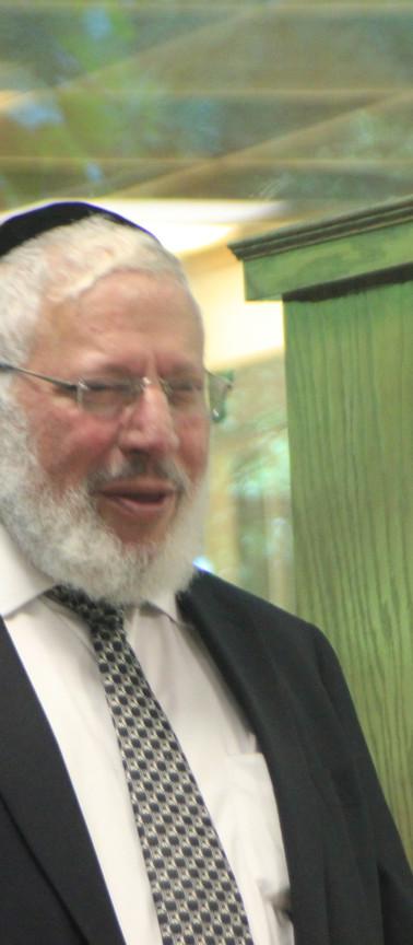 Rabbi Welcher Visit