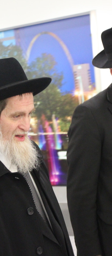 Rabbi Grunblatt Visit