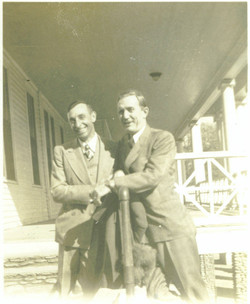 Fred Gibson and Son-in-Law