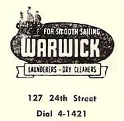 Warwick Laundry Logo