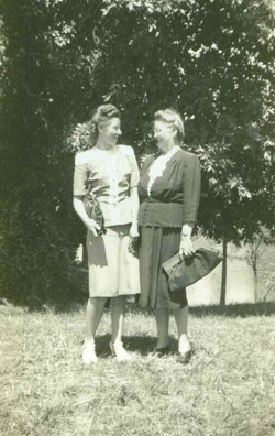 Bessie with Daughter