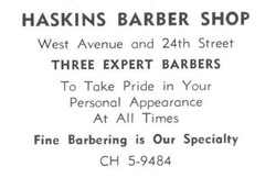 Haskin's Barbershop-1962