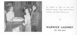 Warwick Laundry-1954