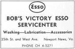 Bob's Esso Station-1961