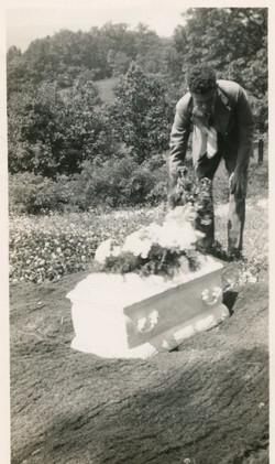 Graveside Mourner