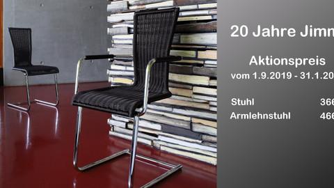 Jubiläums-Aktion: 20 Jahre JIMMY