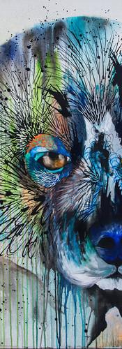 Orco 120 x 120 cm Mixed Media on Canvas Quito / Ecuador 2015