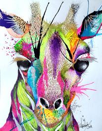 Kasandra Rosa 21 x 29.7 cm Mix media on Cotton Paper Quito. Ecuador