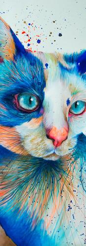 Lupe Mixed Media on Cotton Paper 36 x 56 cm Quito. Ecuador 2018