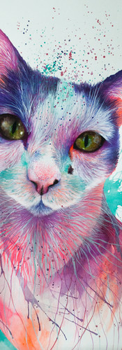 Frida Mixed Media on Cotton Paper 36 x 56 cm Quito. Ecuador 2018