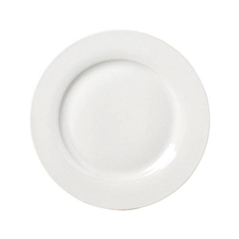 Plato llano de porcelana