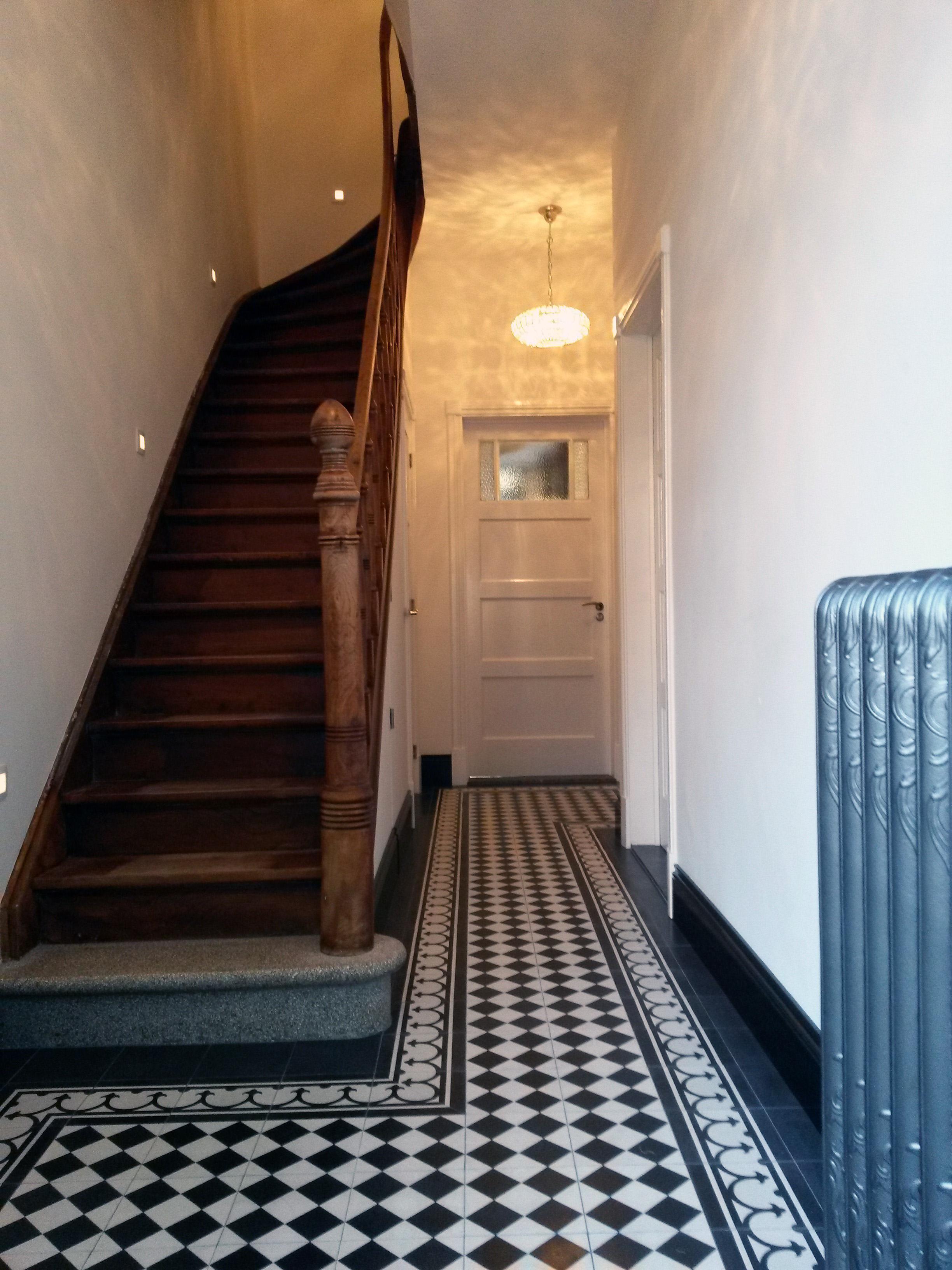 Wycker B&B hallway