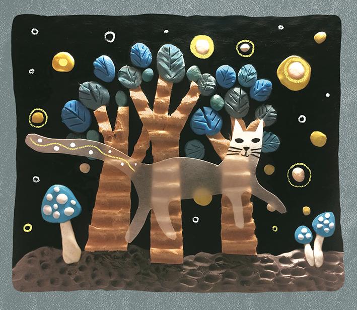 plasticine illustration