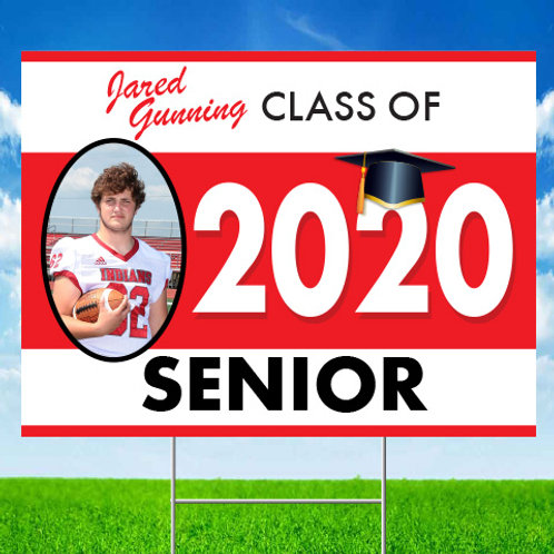 Senior 2020 Yard Sign