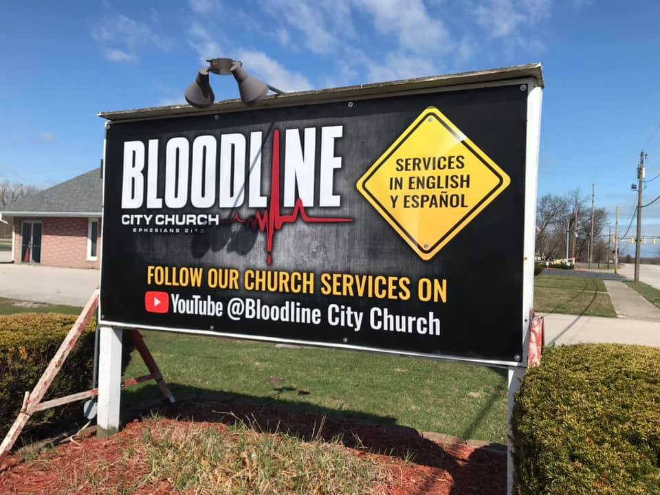 Bloodline Sign Banner