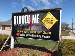 Bloodline Sign Banner