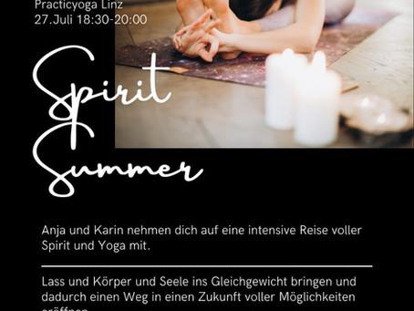 Summer Spirit mit Karin Kaufmann und Anja Hackl
