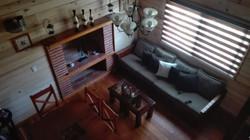 Sala con chimenea