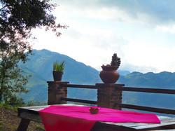 Mesas y paisaje