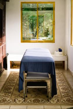 Cama para masajes