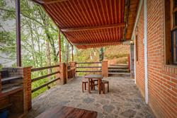 Cabaña Dúplex - Terraza