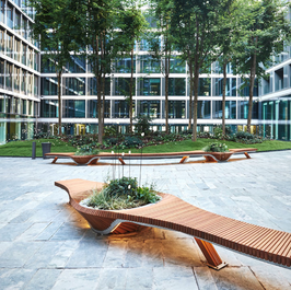 Design courtyard